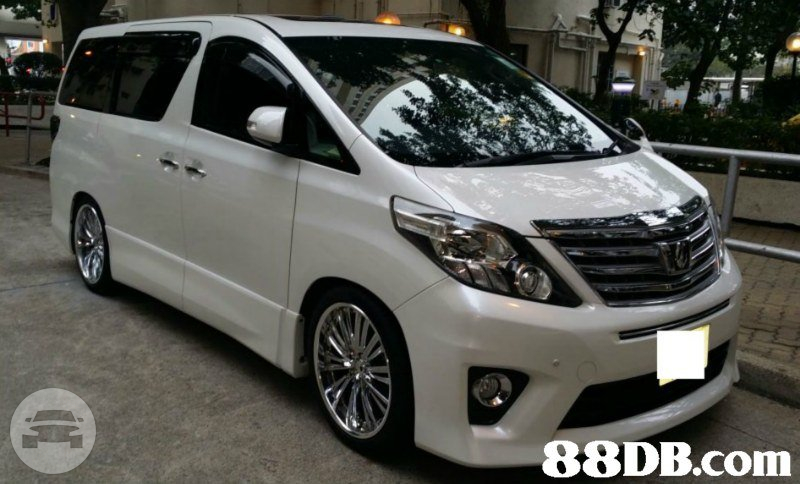 Toyota Vellfire - White Van  / Kowloon, Hong Kong   / Hourly HKD 0.00