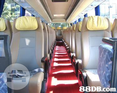 28-66 Seat Coaches - Light Blue Coach Bus  / Hong Kong Island, Hong Kong   / Hourly HKD 0.00