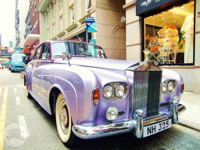 Rolls Royce - Lavender with Red Top Sedan  / New Territories, Hong Kong   / Hourly HKD 0.00