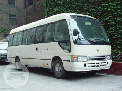 TOYOTA COASTER Coach Bus / New Territories, Hong Kong   / Hourly HKD 820.00  / Airport Transfer HKD 2,755.00