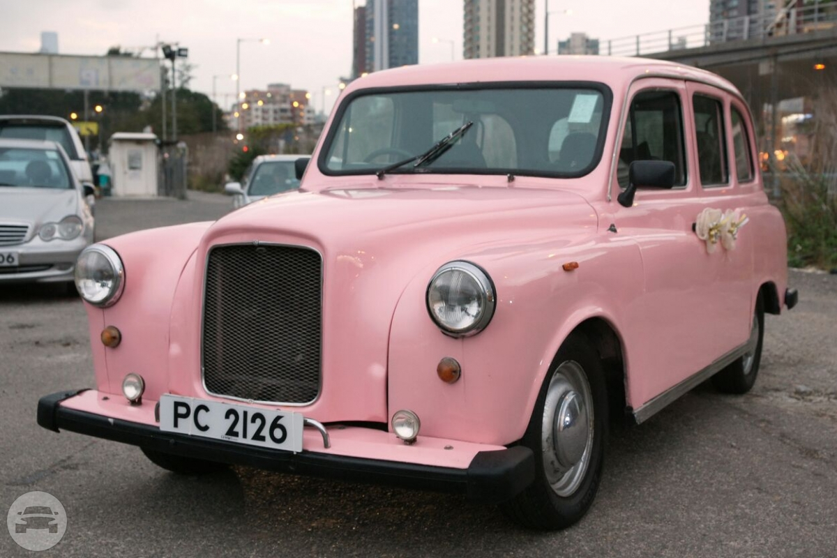 London Taxi (Light Pink) Sedan  / Central And Western District, Hong Kong   / Hourly HKD 0.00
