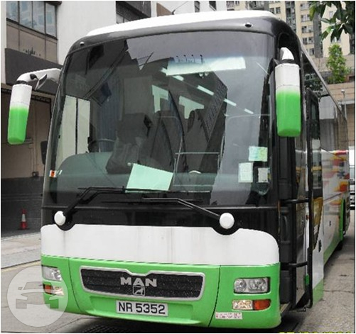 Deluxe 60 Seaters Coach Bus / Kowloon, Hong Kong   / Hourly HKD 570.00  / Airport Transfer HKD 1,400.00