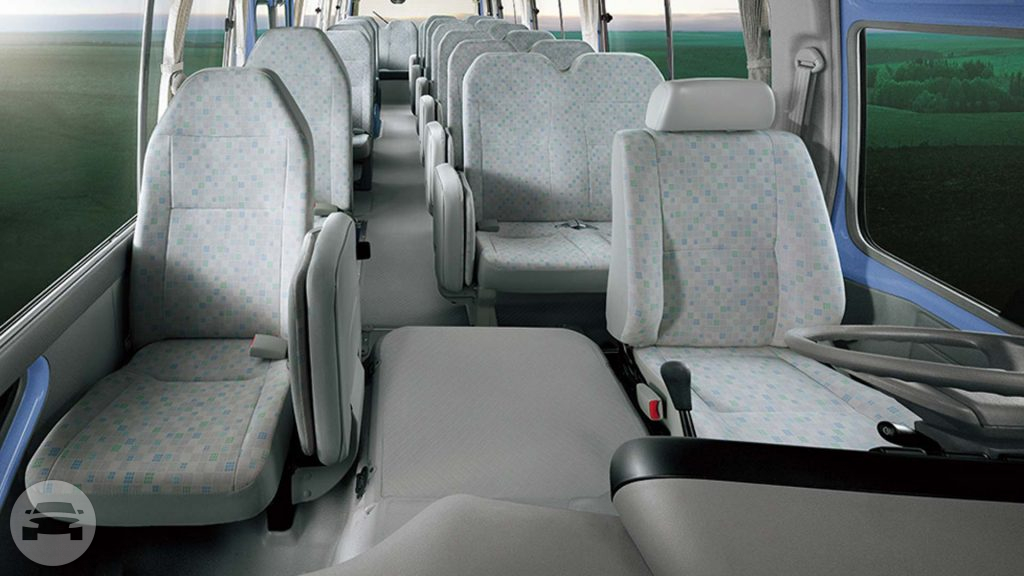 Toyota Coaster Coach Bus  / New Territories, Hong Kong   / Hourly HKD 0.00