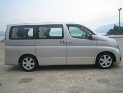 NISSAN ALPHARD Van / New Territories, Hong Kong   / Hourly HKD 0.00