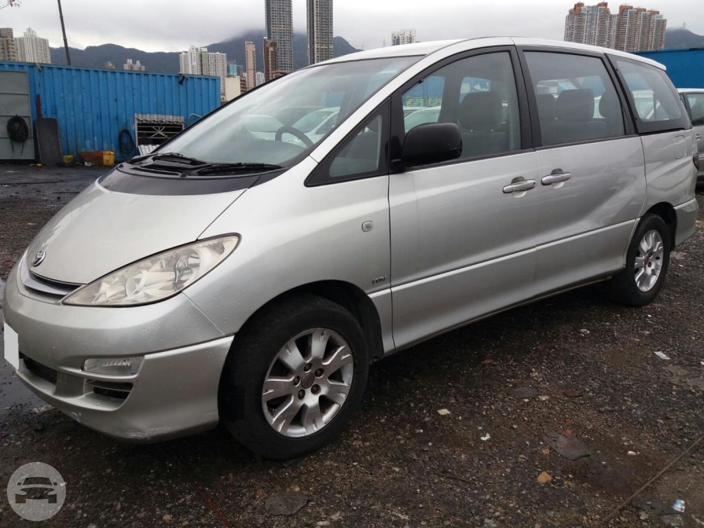 2004 Toyota Previa - Silver Van / New Territories, Hong Kong   / Hourly HKD 450.00