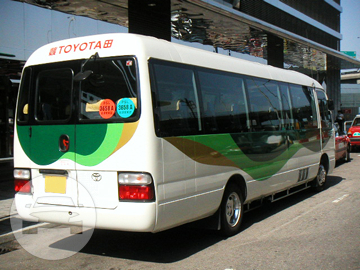 Deluxe 23-Seater Coach Bus Coach Bus / New Territories, Hong Kong   / Hourly HKD 700.00  / Airport Transfer HKD 1,900.00