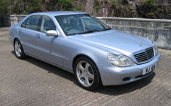 Mercedes Benz W220 Sedan / New Territories, Hong Kong   / Hourly HKD 605.00  / Airport Transfer HKD 880.00