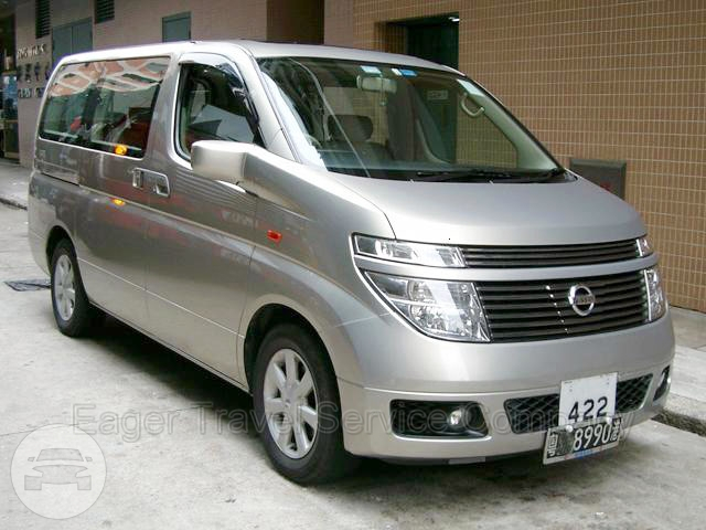 Nissan Elgrand Van  / New Territories, Hong Kong   / Hourly HKD 365.00  / Airport Transfer HKD 580.00