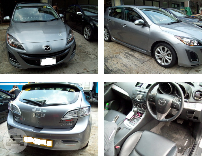 MAZDA  3 Sedan  / Kowloon, Hong Kong   / Hourly HKD 0.00