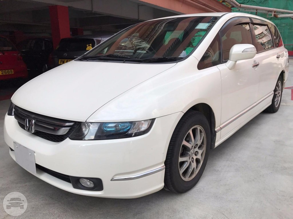 2007 Honda ODYSSEY L - White Van  / New Territories, Hong Kong   / Hourly HKD 350.00