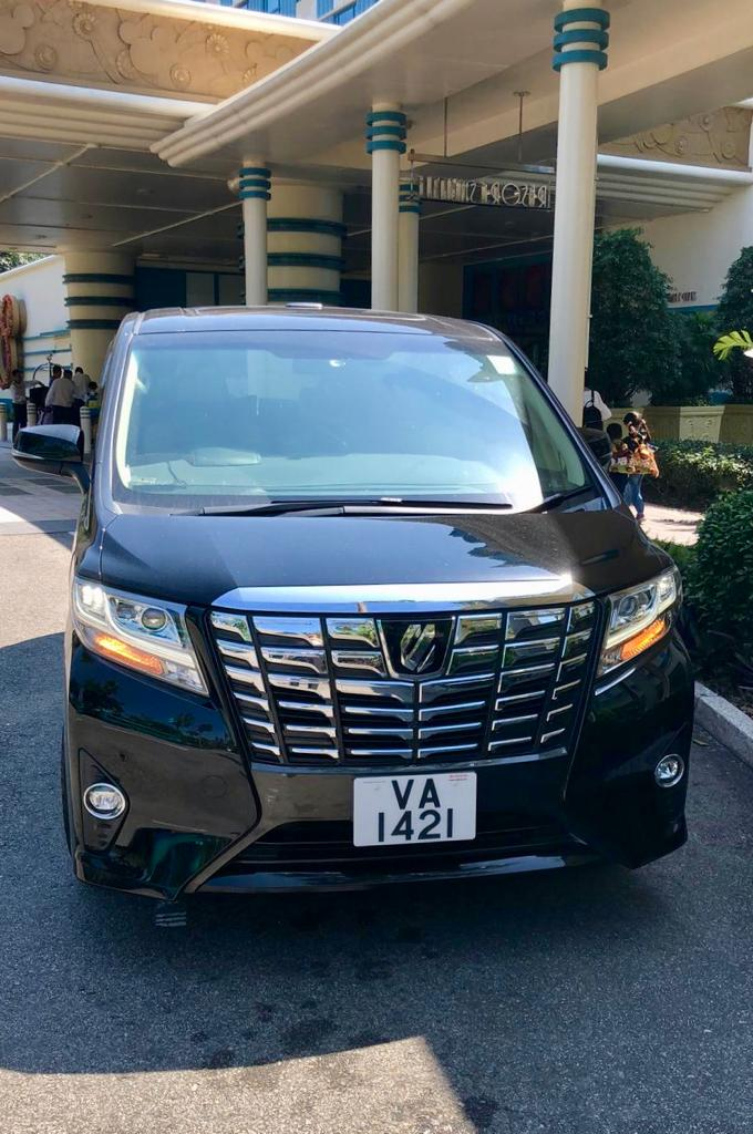 Toyota Alphard Van / Hong Kong Island, Hong Kong   / Hourly (Other services) HKD 700.00  / Airport Transfer HKD 800.00