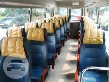 Deluxe 23-Seater Coach Bus Coach Bus / Kowloon City District, Hong Kong   / Hourly HKD 700.00  / Airport Transfer HKD 1,900.00