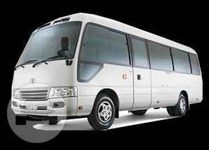 TOYOTA COASTER Coach Bus / Kowloon, Hong Kong   / Hourly HKD 820.00  / Airport Transfer HKD 2,755.00