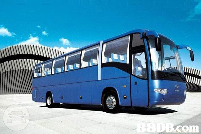 28-66 Seat Coaches - Blue Coach Bus  / Kowloon, Hong Kong   / Hourly HKD 0.00