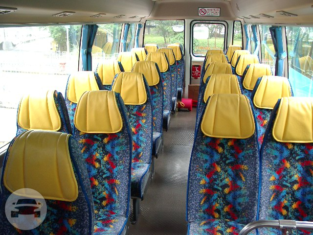 24-28 Seater Bus Coach Bus / Kowloon, Hong Kong   / Hourly HKD 350.00  / Airport Transfer HKD 1,200.00