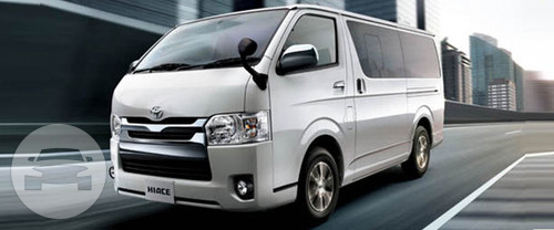 Toyota Hiace Van  / Kowloon City District, Hong Kong   / Hourly HKD 450.00  / Airport Transfer HKD 700.00