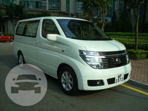 Nissan Elgrand Van  / New Territories, Hong Kong   / Hourly HKD 450.00  / Airport Transfer HKD 700.00