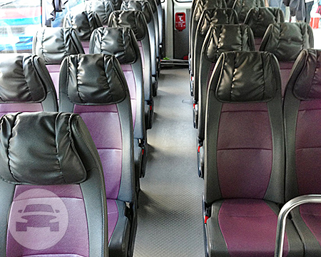 28 Seater Coach Coach Bus  / Hong Kong Island, Hong Kong   / Hourly HKD 500.00  / Airport Transfer HKD 1,300.00