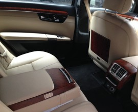 Mercedes Benz S-Class 500 Sedan / Kowloon, Hong Kong   / Hourly HKD 560.00  / Airport Transfer HKD 1,000.00