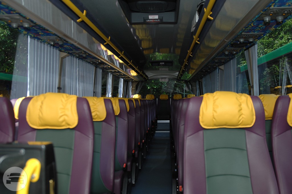 Get online quote for 61 Seats Coach Bus in Hong Kong