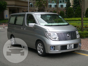 Nissan Elgrand - Silver Van / Hong Kong,    / Hourly HKD 450.00  / Airport Transfer HKD 800.00
