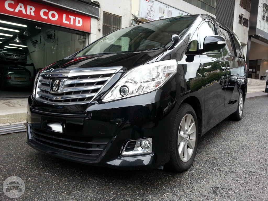 Toyota Alphard Van / Southern District, Hong Kong   / Hourly HKD 500.00  / Airport Transfer HKD 800.00