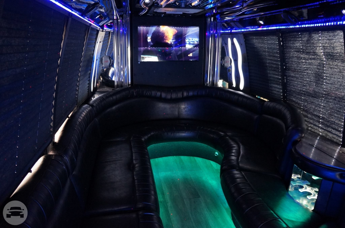 Party Bus - 20 Person Party Limo Bus  /    / Hourly HKD 109.00