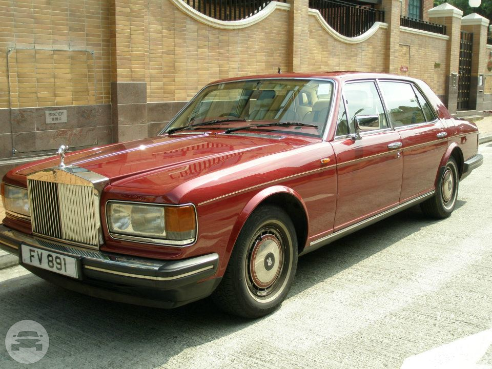 ROLLS ROYCE Laosilaisi SILVER SPUR II - RED Sedan  / Kowloon, Hong Kong   / Hourly HKD 1,999.00