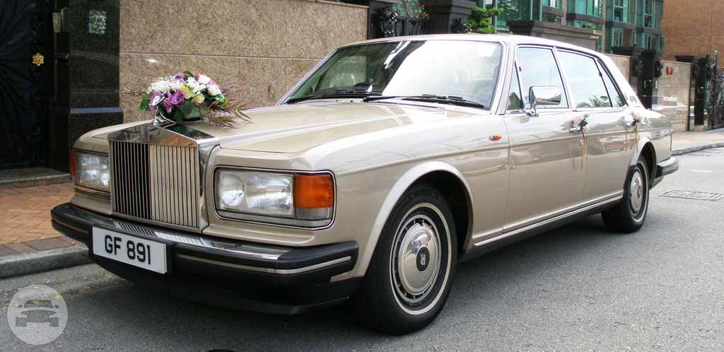 ROLLS ROYCE SILVER SPUR II- CHAMPAGNE GOLD Sedan / New Territories, Hong Kong   / Hourly HKD 2,999.00
