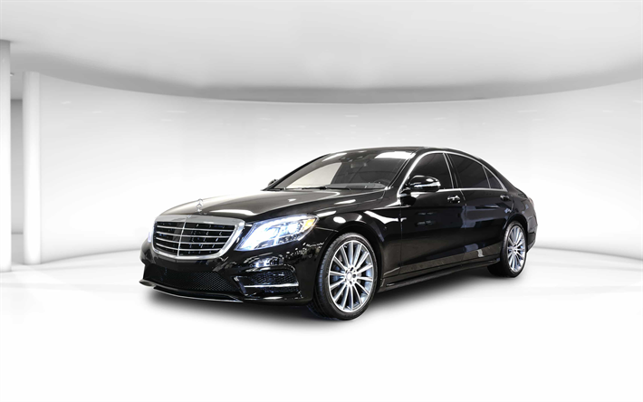 Mercedes-Benz S-Class W222 Sedan  / Kowloon City District, Hong Kong   / Hourly HKD 680.00  / Airport Transfer HKD 980.00