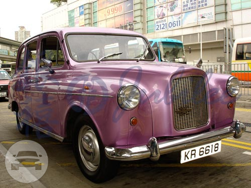 London Taxi (Light Purple) Sedan  / Central And Western District, Hong Kong   / Hourly HKD 0.00