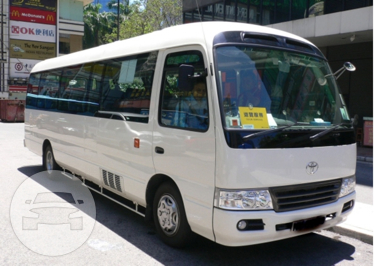 24 Seater Van Coach Bus / New Territories, Hong Kong   / Hourly HKD 480.00  / Airport Transfer HKD 1,550.00