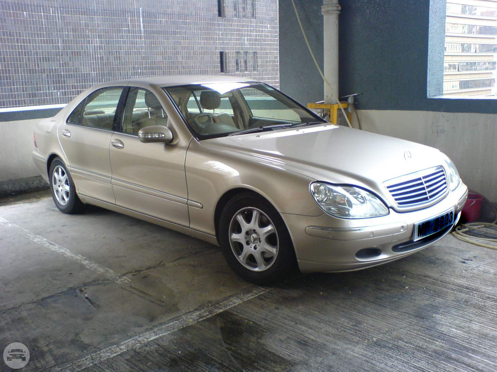 Mercedes Benz S320 220 Series Silver Potential Travel