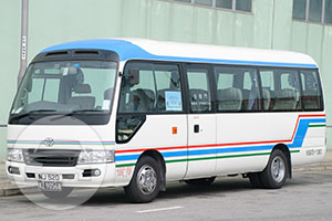Toyota Minibus 16 Seats - NJ520 Coach Bus  / Kowloon, Hong Kong   / Hourly HKD 0.00