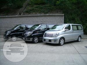Nissan Elgrand Van  / Hong Kong,    / Hourly HKD 450.00  / Airport Transfer HKD 700.00
