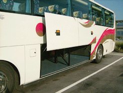 Luxury Bus - 45 Seats Coach Bus / Kowloon, Hong Kong   / Hourly HKD 550.00  / Airport Transfer HKD 1,400.00