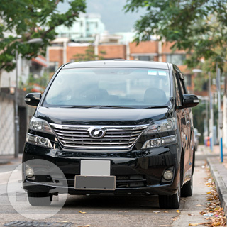 Toyota Alphard - Black/White/Silver Van  / Kowloon City District, Hong Kong   / Hourly HKD 500.00  / Airport Transfer HKD 850.00