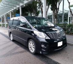 Toyota Alphard 20 - / Hong Kong,    / Hourly HKD 275.00  / Airport Transfer HKD 650.00
