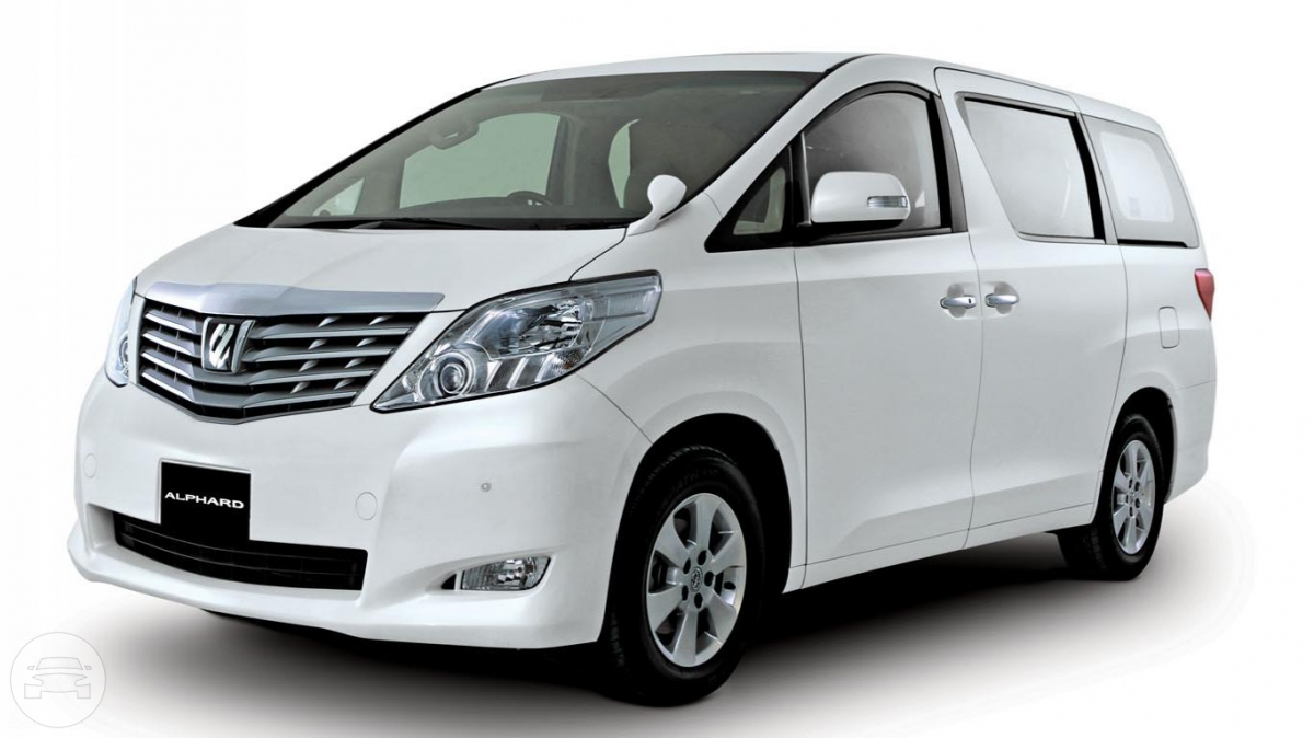 TOYOTA ALPHARD WHITE Van  / New Territories, Hong Kong   / Hourly HKD 0.00