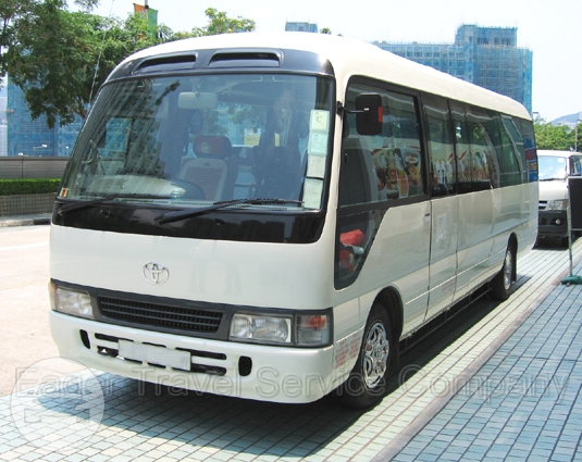24 Seats Coach Bus Coach Bus  / New Territories, Hong Kong   / Hourly HKD 430.00  / Airport Transfer HKD 1,100.00