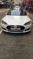 Tesla Sedan Sedan / Hong Kong,    / Hourly HKD 600.00  / Airport Transfer HKD 1,100.00